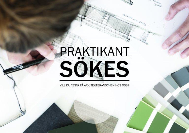 Karin Petterssons Arkitektbyrå söker en arkitektpraktikant