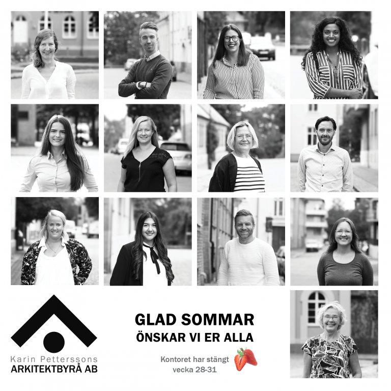 Karin Petterssons Arkitektbyrå Sommarkort 2020