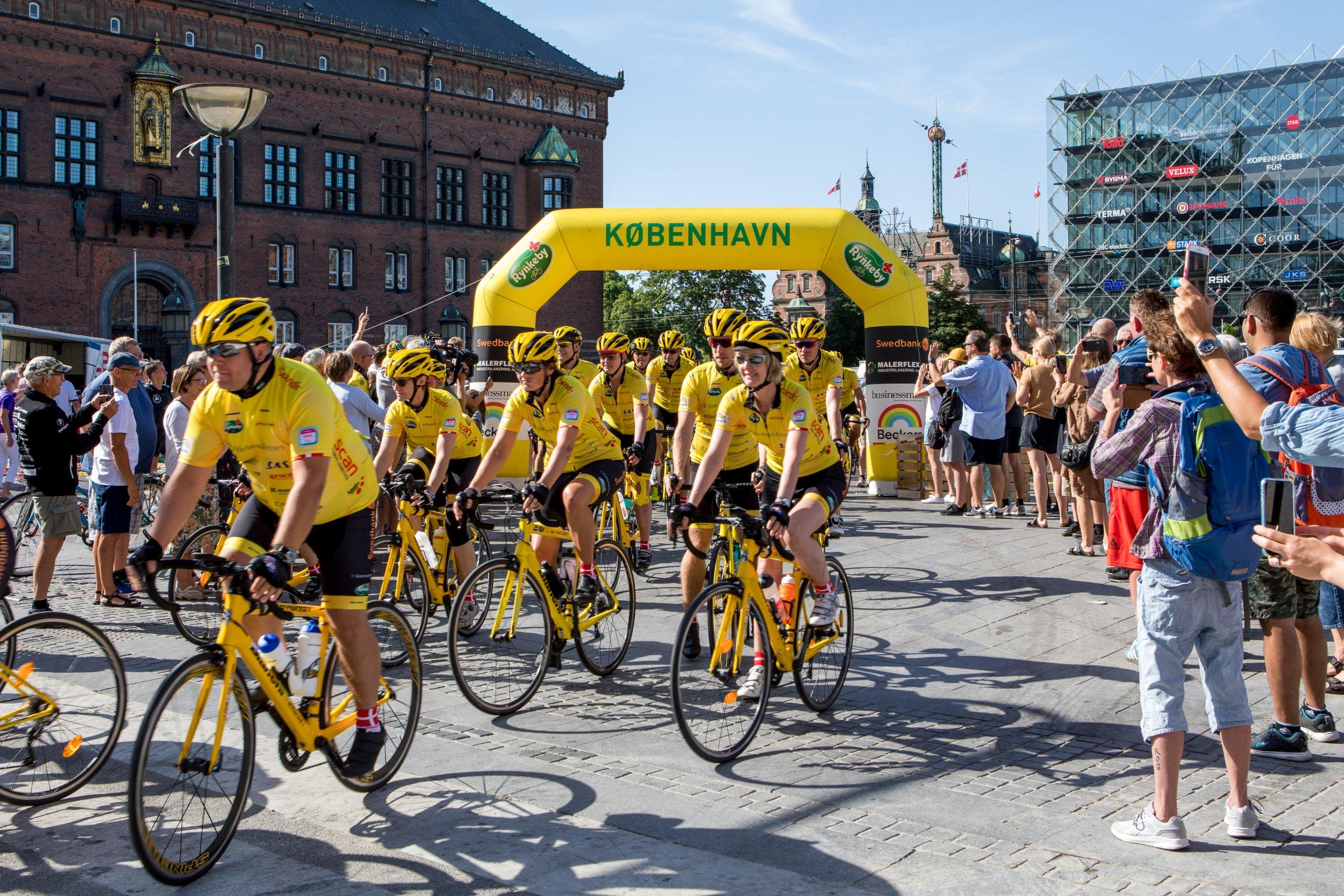 Team Rynkeby – cykelturen ställs in men insamlingen rullar på